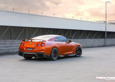 1250hp Blaze Metallic PR12 2019 Nissan R35 GTR