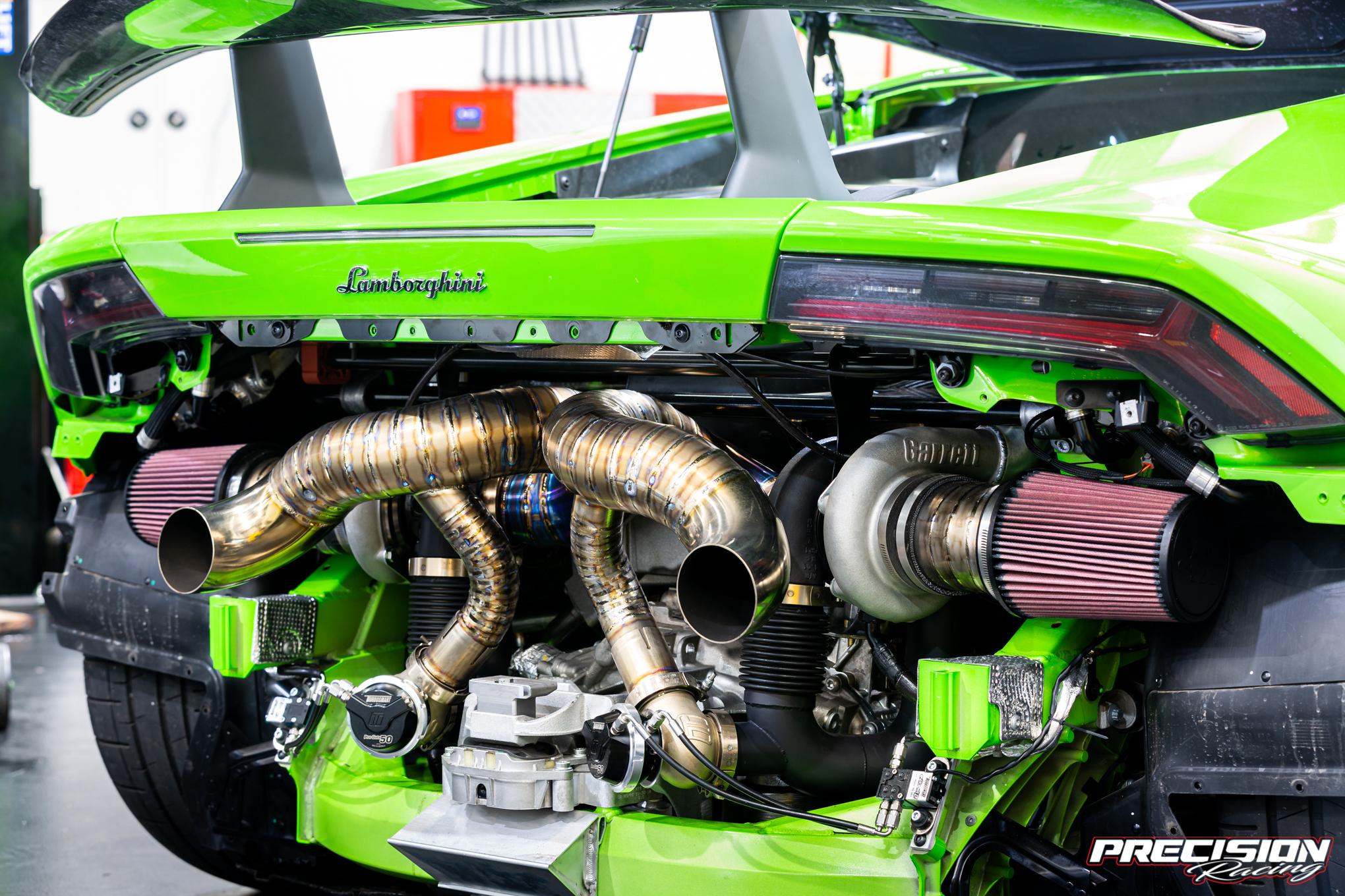 Huracan twin turbo